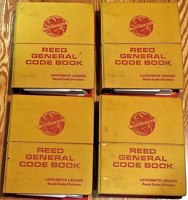 4 Reed General Code Books Volumes 2 3 4 5  //  2-5 - Free Shipping