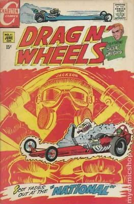Drag N Wheels #41 1970 VG- 3.5 Stock Image Low Grade