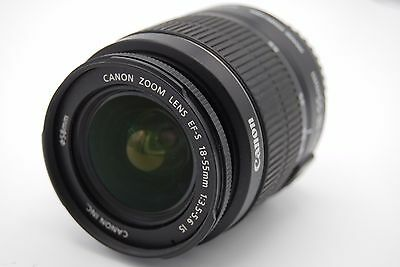 Canon EF-S 18-55mm F/3.5-5.6 Is Lente de Zoom