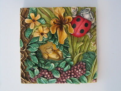 Harmony Kingdom Picturesque Byron's Secret Garden Byron's Bower Tile PXGA4
