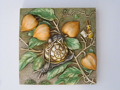 Harmony Kingdom Picturesque Byron's Secret Garden Slow Downs Tile PXGD1 Prem Ed