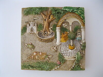 Harmony Kingdom Picturesque Byron's Secret Garden Gourmet Gazebo Tile PXGD2 Prem