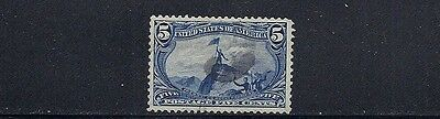 UNITED STATES 1898 TRANS-MISSISSIPPI (Sc 288 5 cent) VF/XF USED