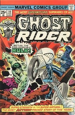 Ghost Rider (1st Series) #10 1975 VG- 3.5 Stock Image Low Grade