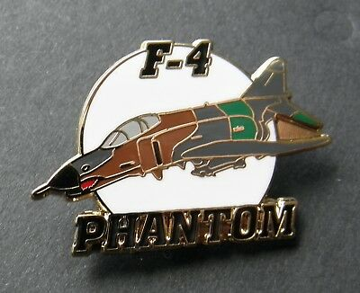 Usaf Mcdonnell Douglas F-4 Phantom Lapel Pin Badge 1.5 Inches