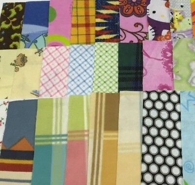 """NEW Quilting 10"""" Layer Cake Squares - Flannels - 40+ Pieces / 2 Color Groups"""