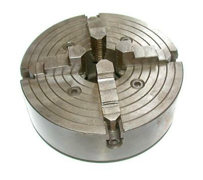 "Generic 4-Jaw Lathe Chuck 10"" Threaded Type"