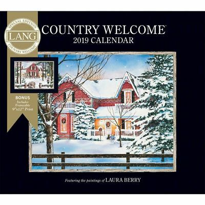2019 Country Welcome Special Edition 2019 Wall Calendar, Lang Folk Art by Lang C