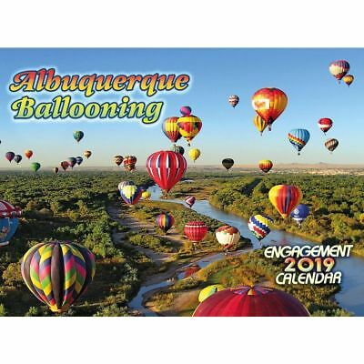 2019 Albuquerque Balloon 2019 Wall Calendar, Landscapes by Smith-Southwestern