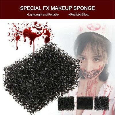 Stipple Sponges for Profesional FX Makeup Stage Face Painting Fake Wound eb