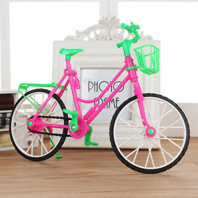For Barbie Doll Bicycle Toy Rotatable Wheels Bike 26*8*17cm Reliable Durable