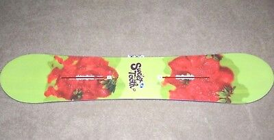 New Burton Womens Sweet Tooth Flat Top Channel Snowboard 148 CM