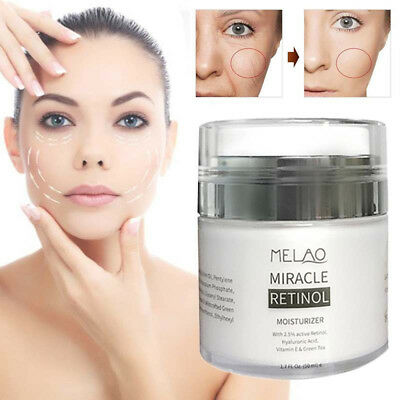 Vitamin E Anti -Aging Facial Cream Retinol 2.5% Serum Hyaluronic Acid