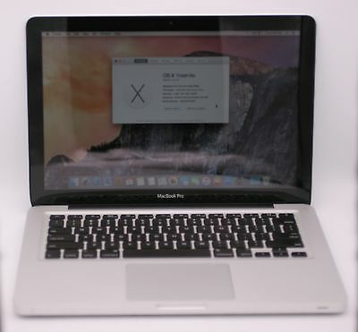 Apple Macbook Pro A1278 Mid 2009 13.3in 160GB HHD 2.26Ghz Intel Core 2 Duo 2GB