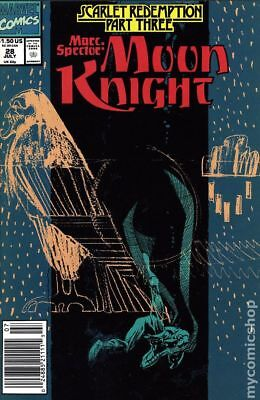 Marc Spector Moon Knight #28 1991 FN Stock Image