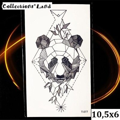 Tatouages Temporaire / Temporary Tattoo  Ours (T-077)