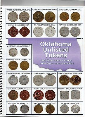 Oklahoma Unlisted Token Catalog...2018 Issue Price $49.95 Buy It Now $19.95