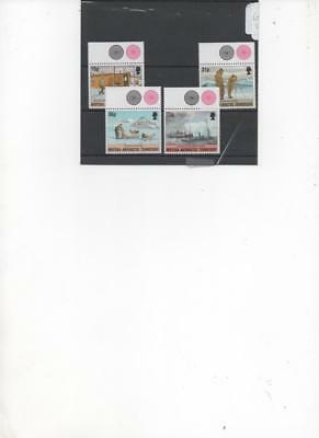 British Antarctic Territory 1994 50th. Anniv. of Tabarin set of 4 MNH Stamps