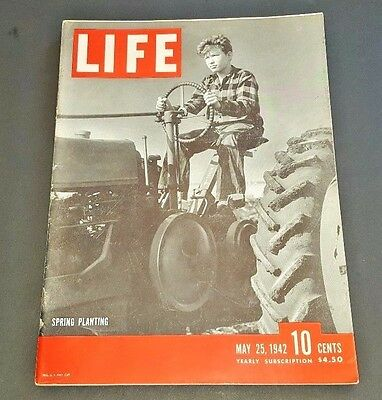 May 25, 1942 LIFE Magazine Advertising FREE SHIPPING 24 26 27 lot 23 22 40s ad