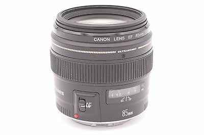 Canon Ef 85mm F/1.8 USM Objectif Fixe pour Canon SLR Cameras