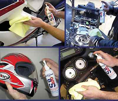 Motorcycle ATV Snow Plastic Helmet Shield SPECIAL SURFACE CLEANER Easy Spray NEW