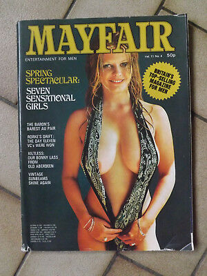 """Mayfair"" Magazine - Vol.11 No.4 - April 1976"