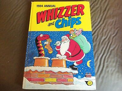 2 Whizzer And Chips 1982/1984 Vintage Comic Book Annual
