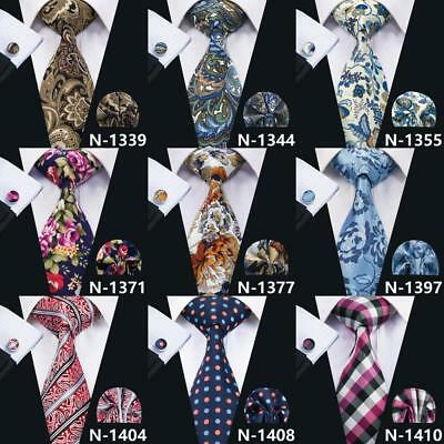 Mens Silk Tie Necktie Set Wholesale 200 Colors Classic Jacquard Woven Wedding