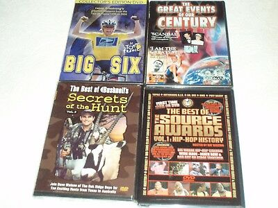 Lot 4 DVD Movies Great Events Best Awards Secrets Of The Hunt Lance Armstrong*