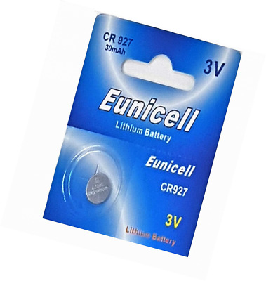 Eunicell 100 CR927 Lithium Button Cell Batteries Pack of 10 German Distribution