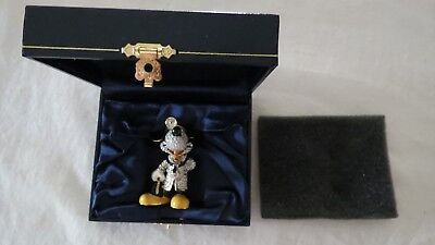 Doctor Disney Park Jeweled Arribas Swarvoski Boxed As Mickey Mouse More Listed