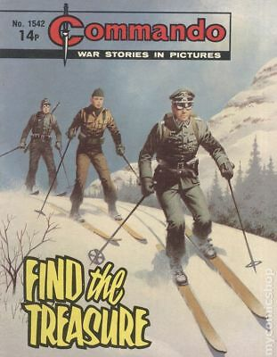 Commando War Stories in Pictures (D. C. Thomson Digest) #1542 1981 VG- 3.5