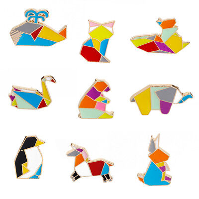 Women's Animal Penguin Swan Enamel Brooch Pin Costume Jewellery Gift BS