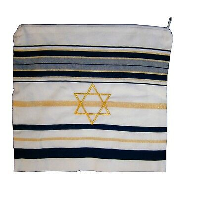 Bag for Acrylic Tallit / Tallis (11 x 11 Inch) - Star of David (Bag only)