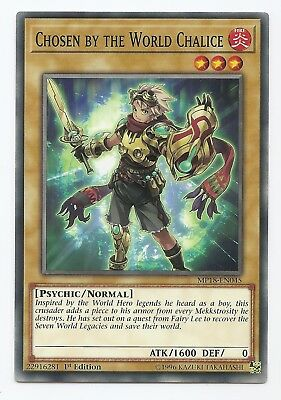 Chosen by the World Chalice MP18-EN045 Common Yu-Gi-Oh Card 1st Edition New