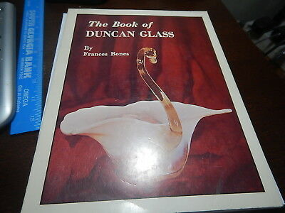Antique Reference Book The Book of Duncan Glass by Frances Bones