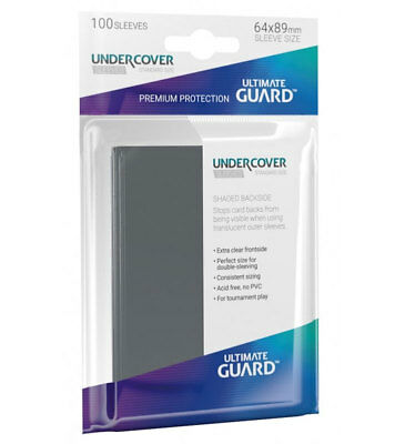 Ultimate Guard Undercover™ Sleeves Standard Size 100 Kartenhüllen Precise-Fit