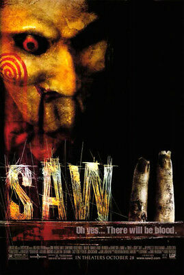 Saw II (2005) original movie poster - single-sided - rolled