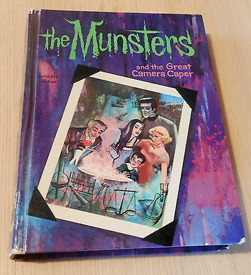 TV The Munsters and the Great Camera Caper HC Whitman Book (1965)