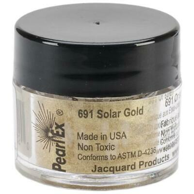 Jacquard Products Jacquard Pearl Ex Powdered Pigments, 3g, Solar Gold