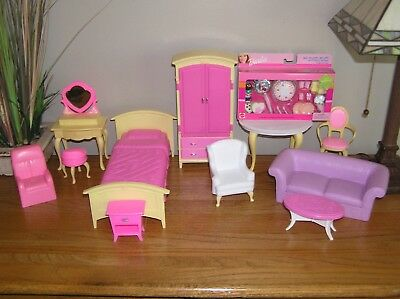 vintage barbie furniture 1990s 2000s bedroom bed vanity stool nib rh picclick com 2000s bedroom decor 80s Bedroom