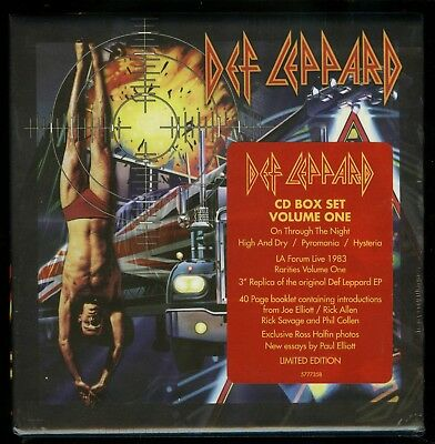 Def Leppard The CD Collection Volume One new High N Dry Pyromania On Through