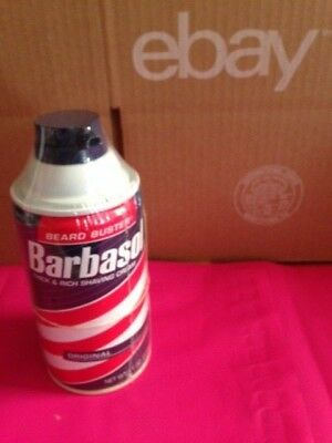 BARBASOL RED Can Diversion Safe Hidden Home Secret Compartment Hide Jewelry NEW