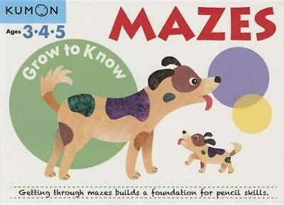 NEW Mazes By Kumon Publishing Paperback Free Shipping