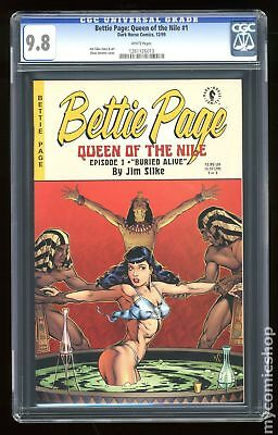 Bettie Page Queen of the Nile #1 1999 CGC 9.8 1261126013