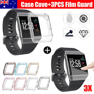 Double Guard 3X Explosionproof Screen Protector/Case Cover Film For Fitbit Ionic