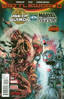 Age of Ultron vs. Marvel Zombies #2A 2015 NM Stock Image