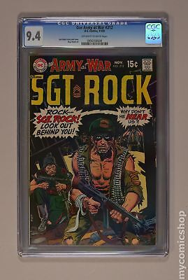 Our Army at War #212 1969 CGC 9.4 0956358008