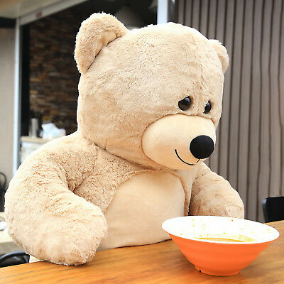 28f4c1e4093 Giant Teddy bear Huge Stuffed Plush Animal Toy Doll for Birthday Chritmas  Gift
