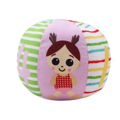 Baby Soft Plush Sensory Toys Ring Bell Gift Ball Educational Toys LA
